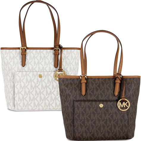 Sell Michael Kors Gift Card - michael kors jet set snap pocket ladies tote handbag ebay