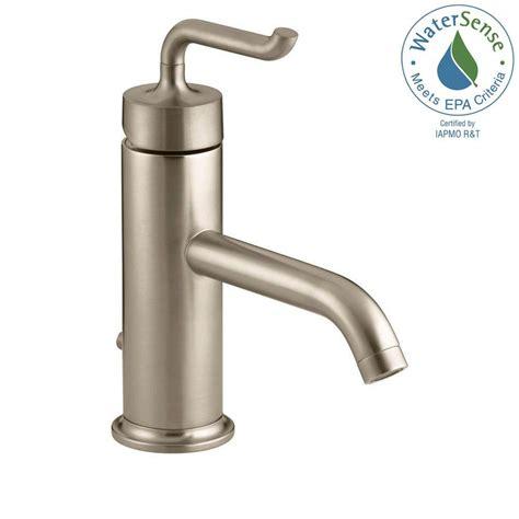 kohler purist bathroom faucet kohler purist single bathroom faucet the home depot canada