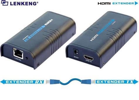 Hdmi Extender Max 120m Kabel Lan lkv373a v3 0 hdmi extender 100 120m hdmi extender