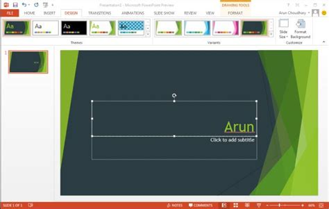 design for ms powerpoint 2013 create theme in powerpoint 2013