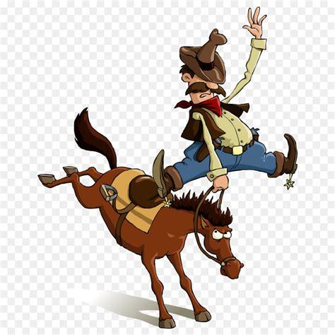 Horse Cowboy Cartoon Equestrianism - Vector rider png ... E Bike Clipart