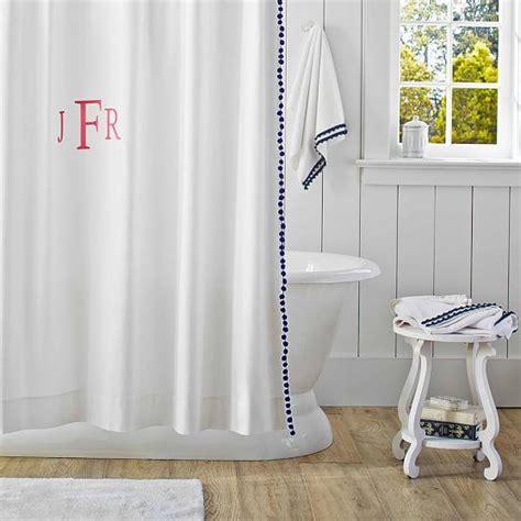 white pom pom curtains plum and bow pom pom dot white shower curtain