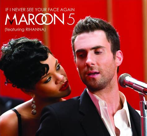 Rihana Maroon maroon 5 if i never see your again lyrics genius