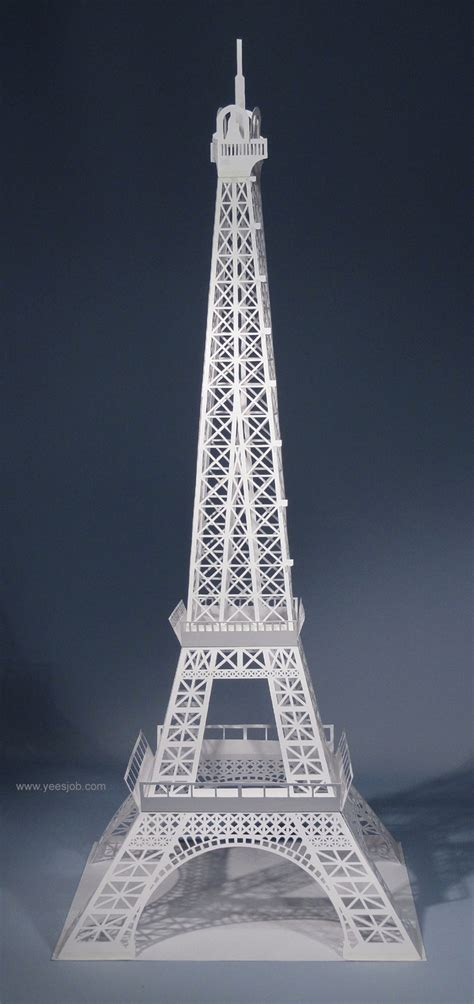 Eiffel Tower Papercraft - 32 best images about origami on