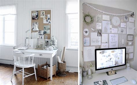decorar escritorio oficina ideas low cost para decorar la pared del escritorio
