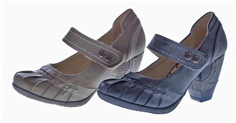Clogs Damen Leder by Damen Pumps Leder Innensohle Schuhe Beige Schwarz Grau