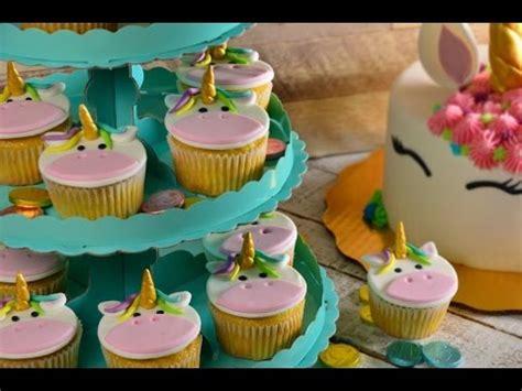 decoracion facil para cupcakes c 243 mo decorar cupcakes de unicornio con fondant s 218 per f 193 cil