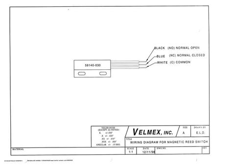 Wiring Diagram For Magnetic Switch Choice Image Wiring Diagram Sle And Guide Velmex Cad Drawings