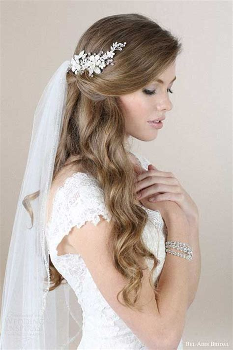 Wedding Hairstyles Veil by Wedding Hairstyles With Veil Wedding Hair