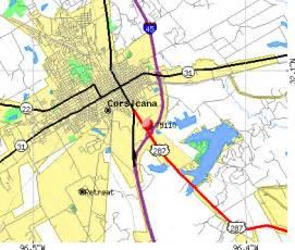 map of corsicana 75110 zip code corsicana profile homes