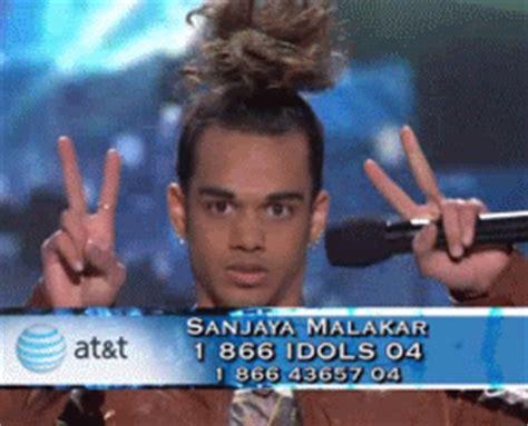 American Idol Says Sayonara To Sanjaya by 9 Iconic Hairstyles That Look On Mainstream