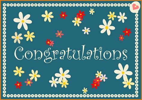 congratulations card template 7 free congratulations cards itinerary template sle