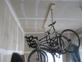 hang bike from ceiling best way to hang bikes from garage ceiling 2017 2018