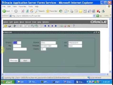 tutorial for oracle apps oracle apps tutorial 3 oracle apps oracle form triggers