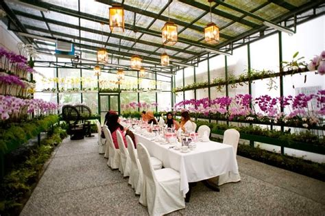 Garden Wedding Concept In Malaysia by Orchid Conservatory Room Majestic Hotel Kl