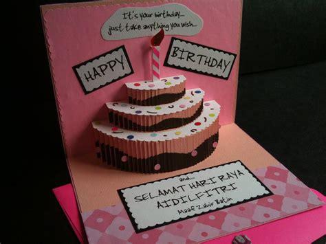 pop up friend card template handmade birthday card ideas for best friend handmade