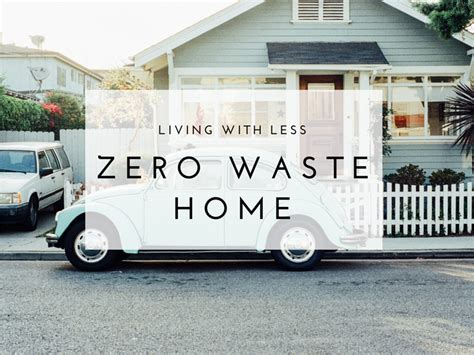 could you live a zero waste the blissful mind