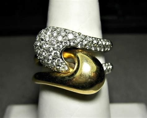 Gift Card Puzzle Vault Amazon - 14k gold puzzle ring with diamonds ciemme yin yang motif 1 25 carats 11 3 grams diamond