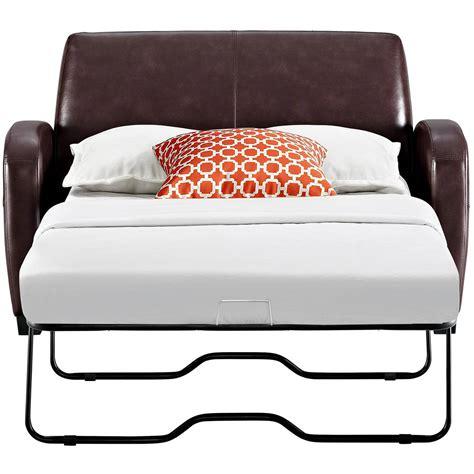 chemical free sleeper sofa gold sparrow albany convertible loveseat sleeper dark gray