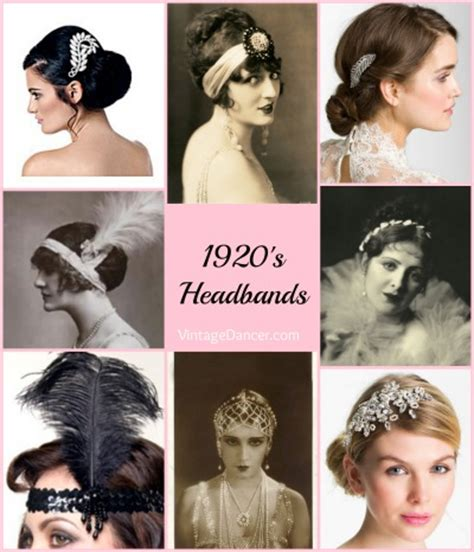 1920s Accessories Stockings, Hats, Headbands, Jewelry