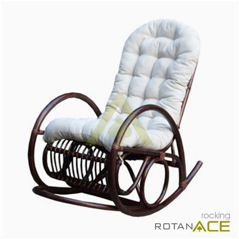 Kursi Rotan Goyang jual rocking kursi goyang rotan harga lebih murah 183 rotanace