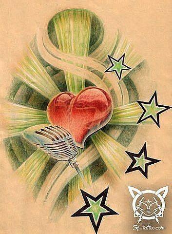 rockstar tattoo designs 88 best designs images on