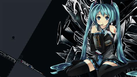 wallpaper hd anime jepang hatsune miku wallpapers hd taringa