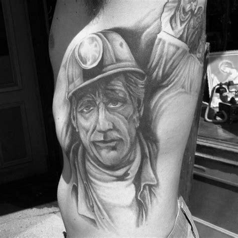 coal miner tattoos 40 coal mining tattoos for miner design ideas