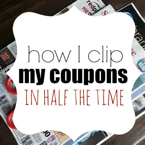 Closet Coupons by Save Time On Clipping Coupons Coupon Closet