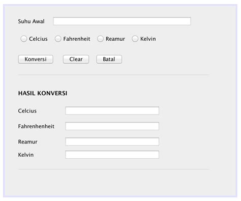 tutorial netbeans bahasa indonesia membuat aplikasi konverter suhu dengan java netbeans