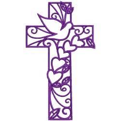 Machine embroidery designs beautiful crosses 1