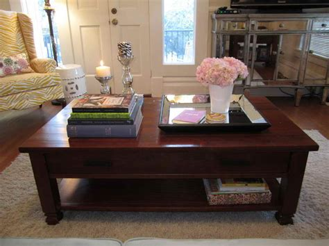 decorating a coffee table decoration creative coffee table decorating ideas