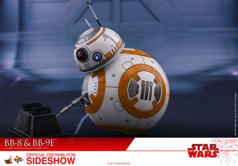 bb 8 figure wars bb 8 and bb 9e sixth scale figure set by