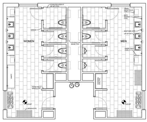 public bathroom floor plan public restroom design google search work ideas