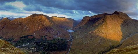 Landscape Photography Glencoe Highland Landscapes Where Mountains Meet The Sea