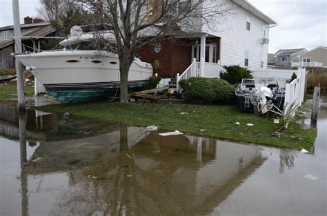 town of babylon section 8 boats washed up lindenhurst ny post hurricane sandy a
