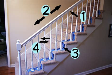 how to paint banister really want to paint our stairs white thanks bower power