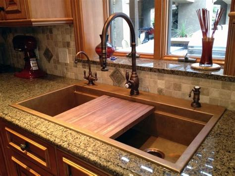 Copper Kitchen Sink Pros And Cons Photos Of Copper Sinks In Kitchens