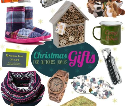 christmas treats for outdoors nature lovers