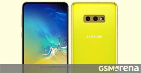 here s our look at the canary yellow galaxy s10e gsmarena news