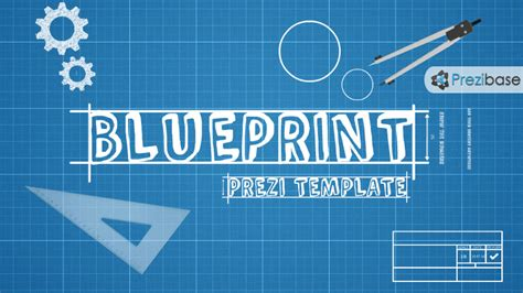 blueprint prezi template prezibase