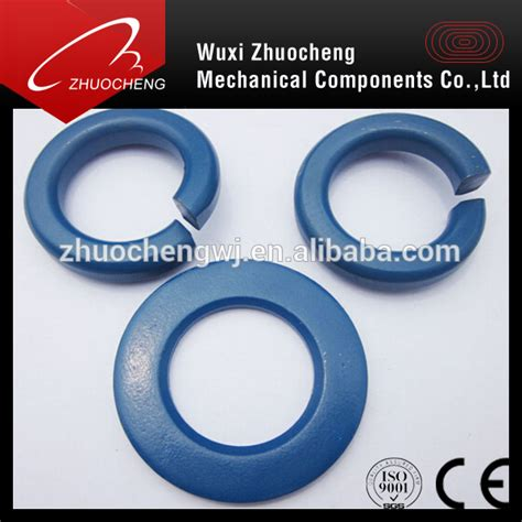 Teflon Lock And Lock carbon steel standard din127b ptfe lock washers buy ptfe
