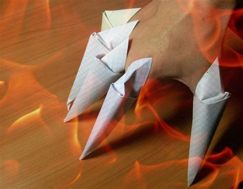 How To Make Origami Claws - 17 best images about origami on origami paper
