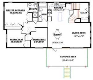 Bi Level Floor Plans by Bi Level House Plan With A Walkout 2011594 By Edesignsplans Ca