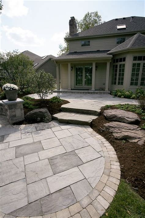 Unilock Elements Rivenstone Patio By Unilock Buffalo Ny Hardscape