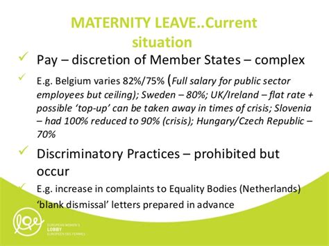 Section Maternity Leave by Why Maternity Leave Matters In The Context Of