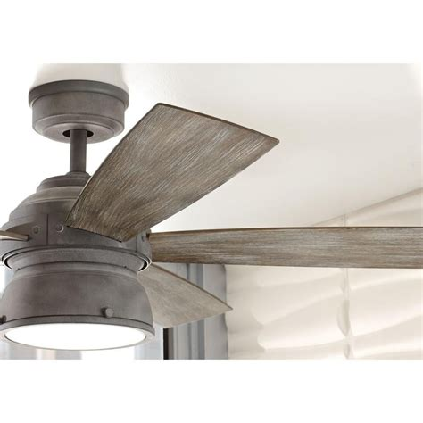 indoor outdoor ceiling fans home decorators collection 52 in indoor outdoor weathered