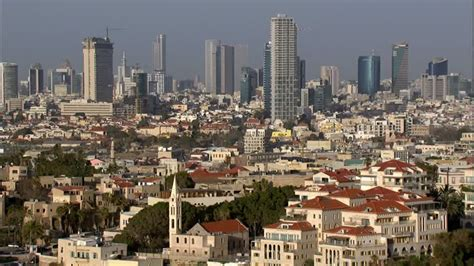 tel aviv future skyline high rise skyscraper tel aviv hd stock video footage collection framepool rightsmith
