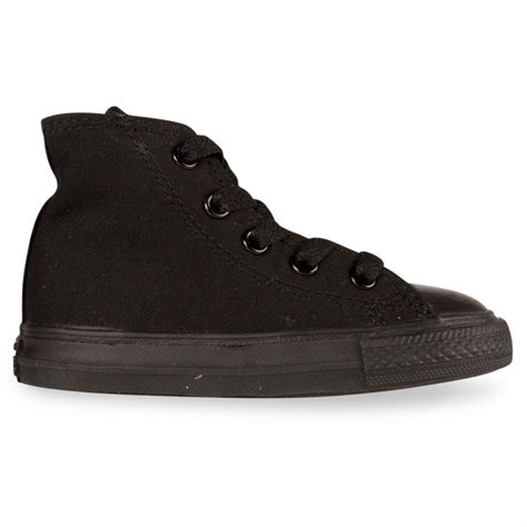 Sepatu Converse Allstar Classic High Import converse all high infants monochrome black hype dc