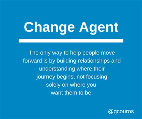 characteristics of a change the of change